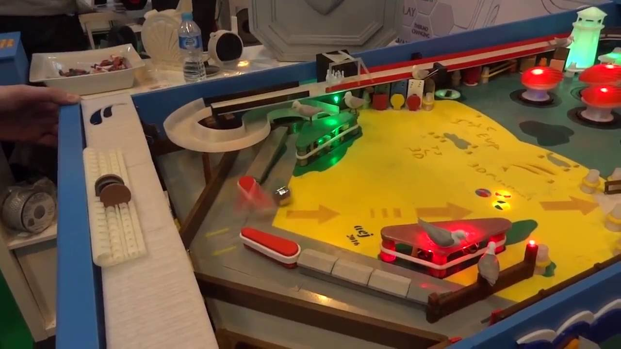 Why Buy a Pinball Machine When You Can 3D Print One?
