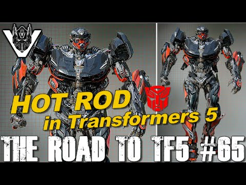 HOT ROD in Transformers 5 as Lamborghini - [THE ROAD TO TF5 #65]