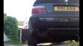 BMW E36 328i Sport exhaust sound