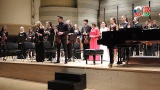 Молодежный белорусско-российский симфонический оркестр выступил в Вильнюсе