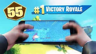 This is what a Cash Cup on Fortnite Mobile looks like... (22 Point Win)