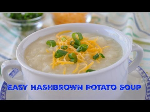 Easy Potato Soup - Cancer Patient Recipes From Eating Well Through Cancer
