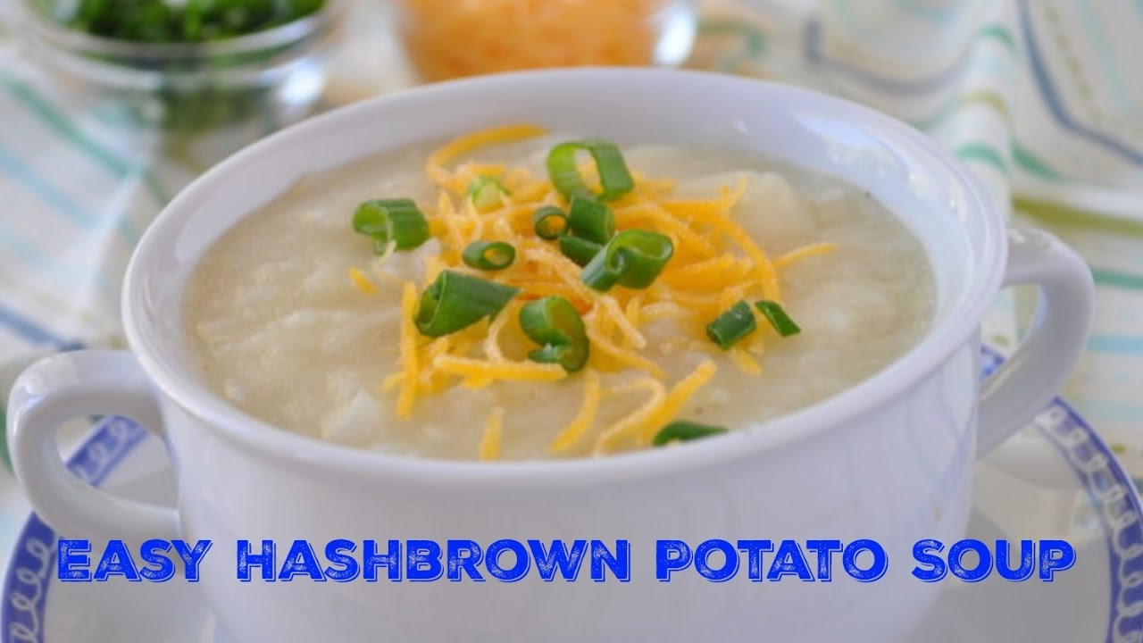 Easy potato soup cancer patient recipes from eating well through easy potato soup cancer patient recipes from eating well through cancer forumfinder Choice Image