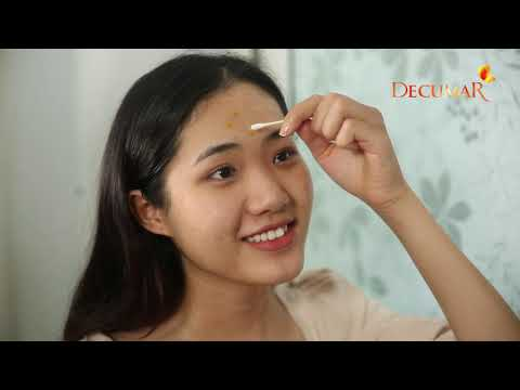 [REVIEW DECUMAR ] Cách dẹp mụn thành công của cô bạn Thu Hường