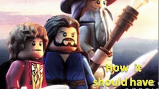 Lego The Hobbit how it should have ended