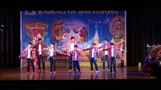 kairali of baltimore christmas and new year 2018 dance – hawa hawa boys