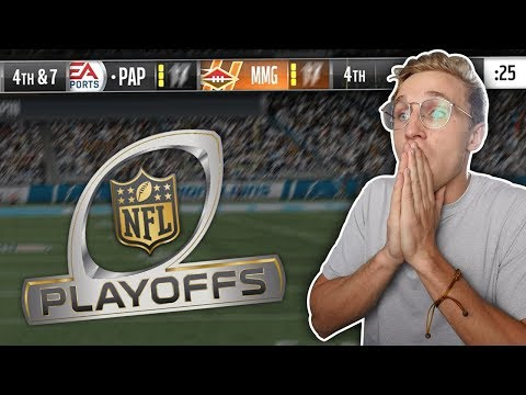 The Most *INTENSE* Playoff Game You Will Ever Watch... Wheel of MUT! Ep. #28