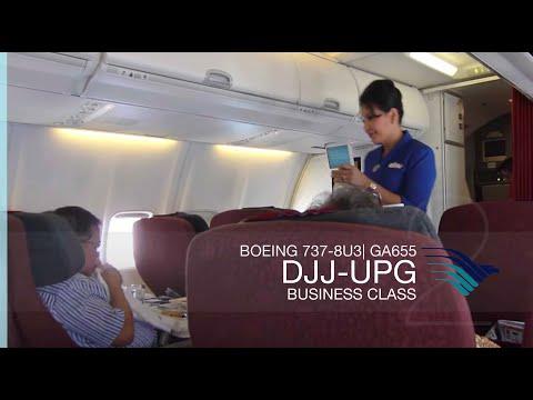 FRP S2E5 - Garuda Indonesia GA655 Domestic Executive Class Experience | Jayapura - Makassar