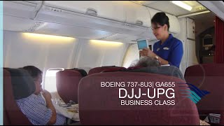 FRP S2E5 - Garuda Indonesia GA655 Domestic Executive Class Experience | Jayapura - Makassar