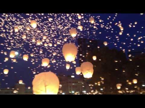 Grand Rapids Art Prize - Lights In The Sky Lanterns