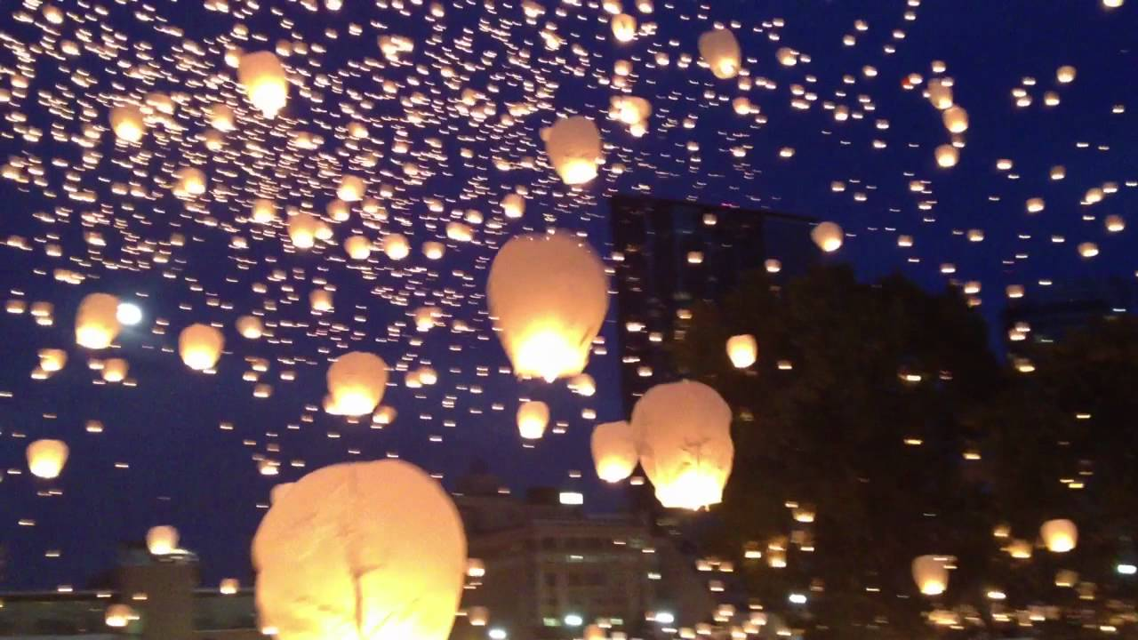 Art Prize Lights In The Sky Lanterns