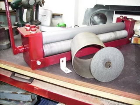 how i finished part 2 of the sheet metal roller
