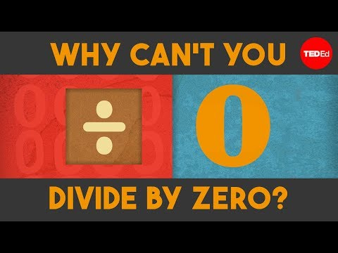Why can't you divide by zero?