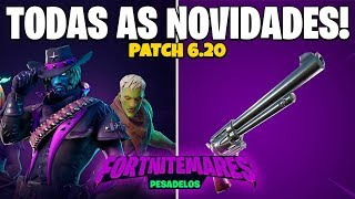 FORTNITE-FREE REWARDS, CROSSBOW, NEW SKINS & ACCESSORIES | Patch v 6.20