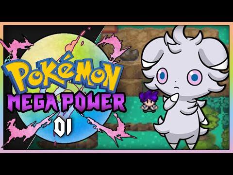 Pokemon Mega Power (Rom Hack) Part 1 - Best Starter! Gameplay Walkthrough