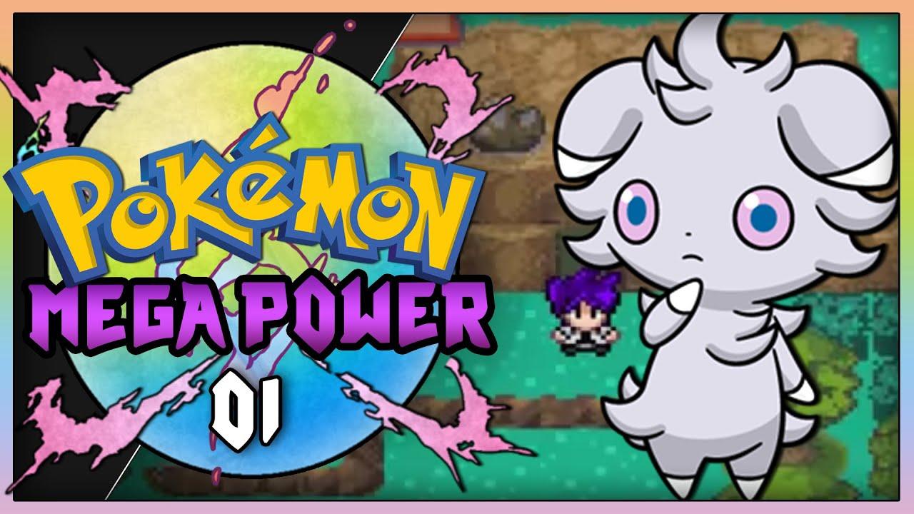Pokemon Mega Power Rom Hack Part 1 Best Starter Gameplay Walkthrough Youtube