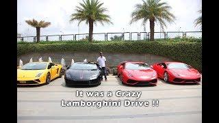 Lamborghini Meet in Bangalore be Like....