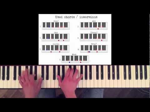 How to play: Jamiroquai - Virtual Insanity. Original Piano lesson. Tutorial by Piano Couture.