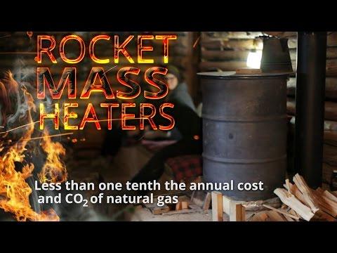 Better Wood Heat: DIY Rocket Mass Heaters - trailer for 4-DVD set