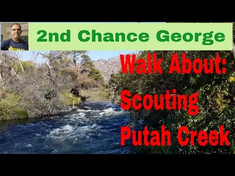 VLOG5 - Walk About - Scouting Putah Creek, Yolo County, CA