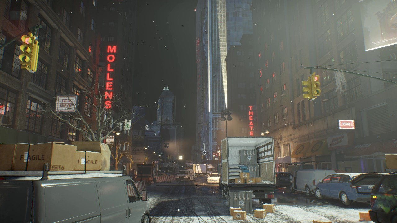 Post-Apocalyptic City Scene 2 - DreamScene [Live Wallpaper] - City Ambience - YouTube