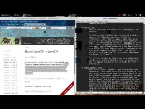 overthewire.org [SPOLIER]  BANDIT level13-14 hacking wargame