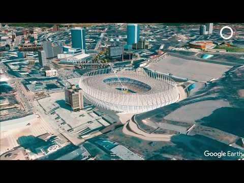 Kyiv Google Earth tour. Ukraine