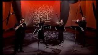 Quatuor La Flûte Enchantée, Rossini ouverture, Barbier de Séville HD