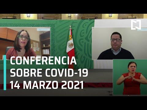 Conferencia Covid 19 - 14 de marzo 2021