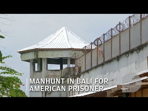 American suspect escaped from Bali's Kerobokan Prison