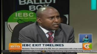 The Big Question: IEBC Exit Timelines