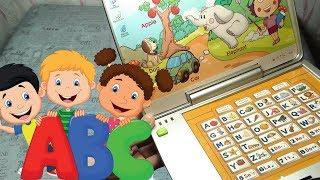 Детский НОУТБУК для изучения Английского языка/Обзор/Children's laptop for learning English ABC