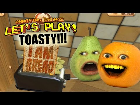 Generate Annoying Orange - Let's Play I AM BREAD: TOASTY!!! Pics