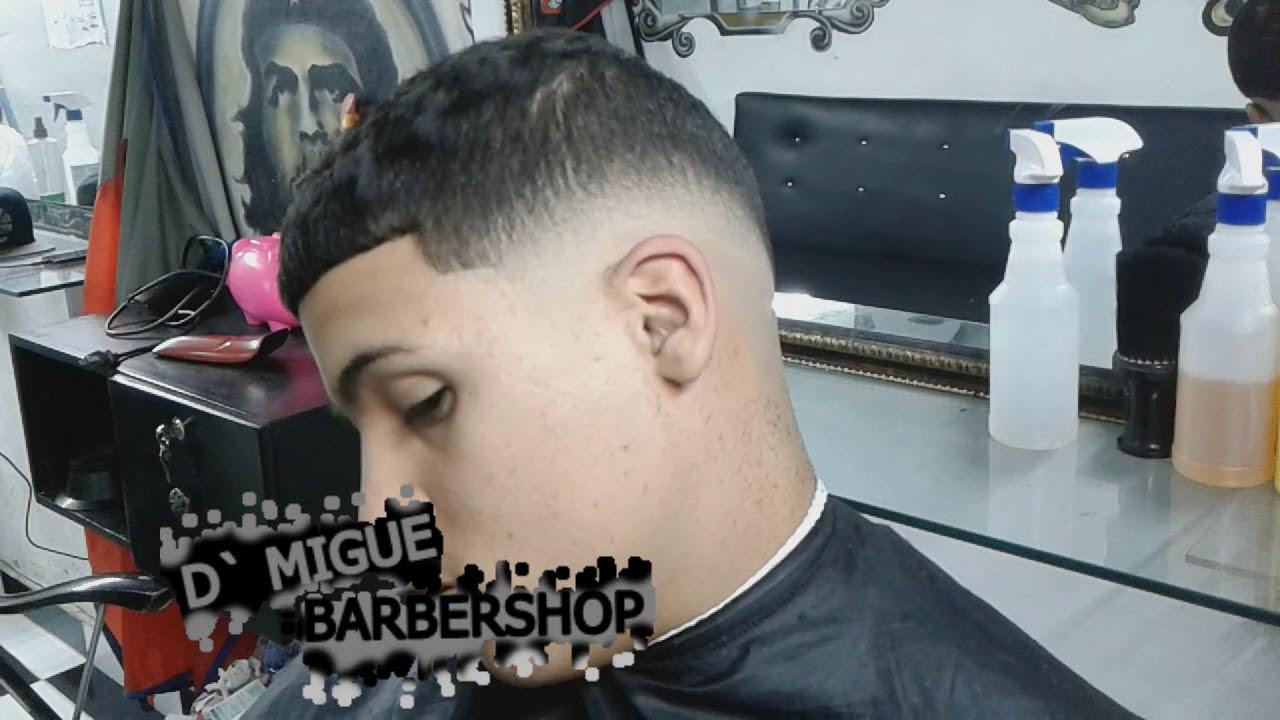 Como Hacer Un Fade Bajo Degradado D 180 Migue Barbershop