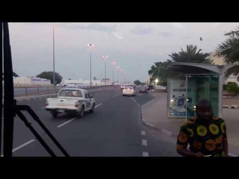 Exploring Garafa Area Aboard Karwa Bus -Doha, Qatar_#127