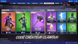 BOUTIQUE FORTNITE DU 7 JUIN 2019 - BOUTIQUE D'ARTICLES FORTNITE 7 JUIN 2019 NEW SKIN
