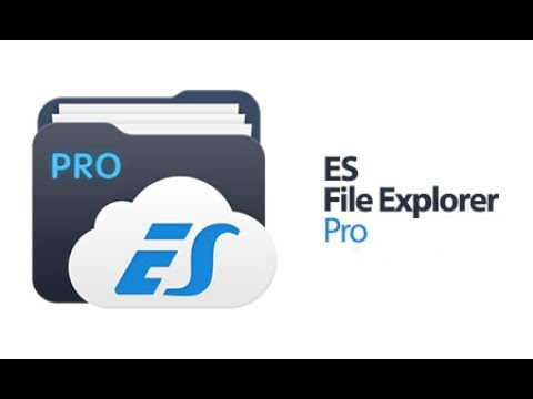 ES file explorer pro for free