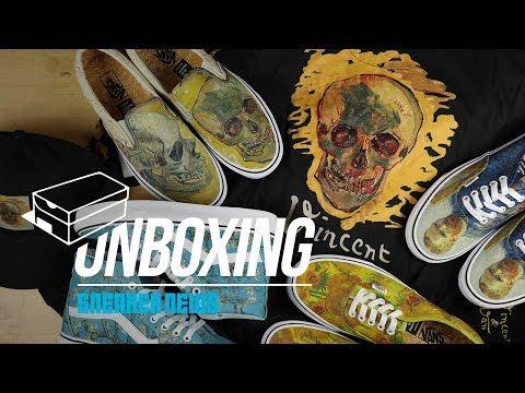 Unboxing The Van Gogh x Vans Collection