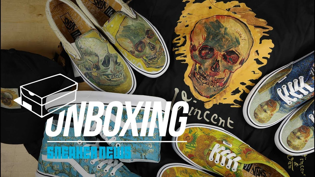 Unboxing The Van Gogh Vans Collection - YouTube b4a2c1195