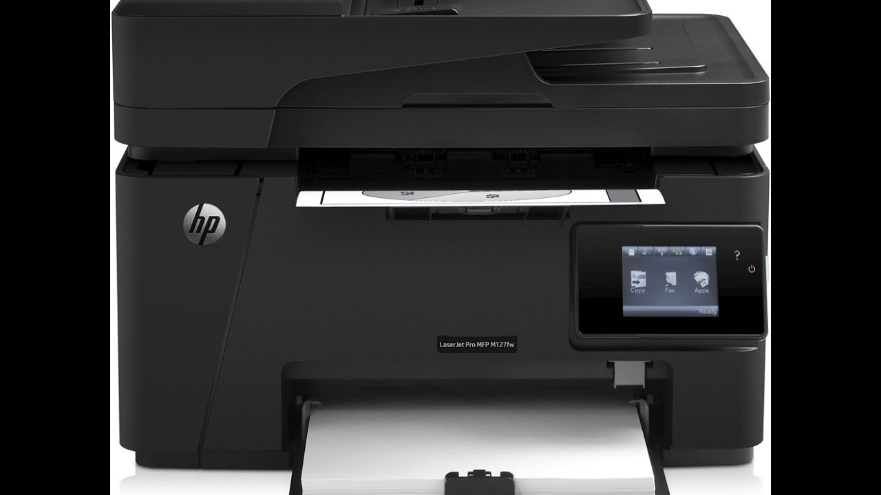 HP LASERJET PRO MFP M127FW PRINTER DRIVERS WINDOWS 7