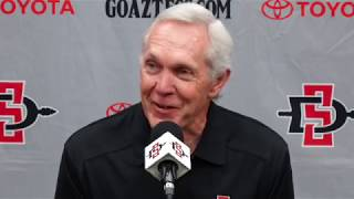 SDSU FOOTBALL: ROCKY LONG WEEKLY PRESS CONFERENCE