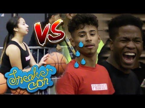 Julian Newman vs Jaden in SneakerCon ATL 3pt Contest! Ft  Zion Harmon, Ruuman