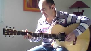 Céline Dion - Parler A Mon Père - Guitare Fingerstyle