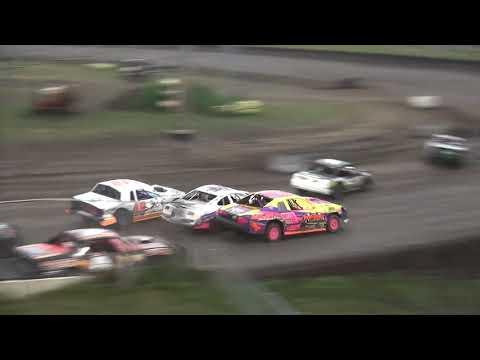 IMCA Stock Car feature Benton County Speedway 7/28/19