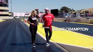 Richie Crampton Walk 1000 feet with NHRA on FOX