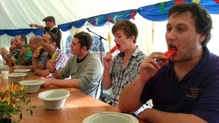 Chilli Eating Contest | Bath Chilli Festival | Sunday 6 October 2013