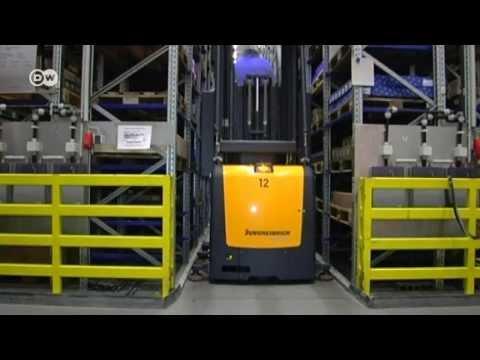 Industrie 4.0 - Hightech-Logistik für die Industrie   Wirtschaft kompakt