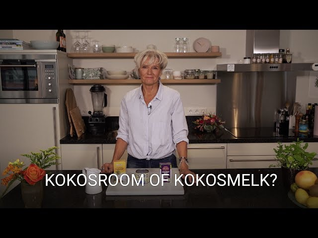 Kokosroom of kokosmelk?