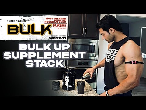 BULK UP Supplement Stack | BULK Mass Building Program | Guru Mann | Health & Fitness thumbnail
