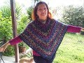CROCHET PONCHO EASY AND QUICK